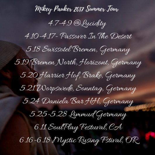 Summer tour part 1